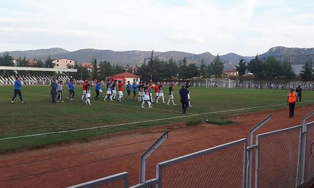 Oğuzhanspor Türkiye Kupasına Veda Etti
