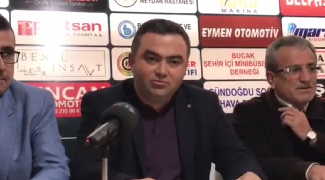 Oğuzhanspor Başkanı Hüseyin çetiner