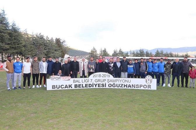 Şampiyon Oğuzhanspor 1